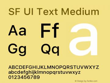 SF UI Text Medium 11.0d45e1--BETA图片样张