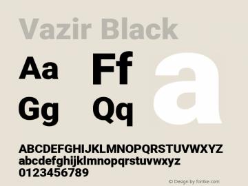 Vazir Black Version 27.2.1图片样张