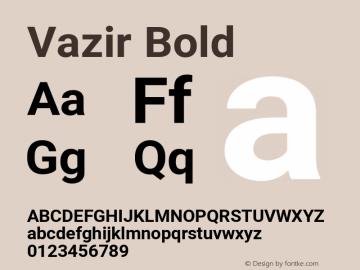 Vazir Bold Version 27.2.1图片样张
