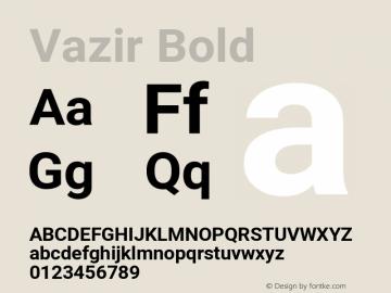Vazir Bold Version 27.2.2图片样张