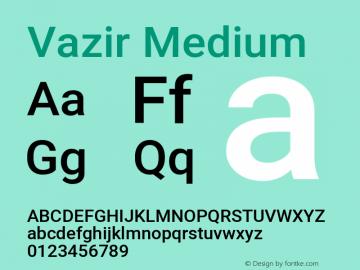 Vazir Medium Version 27.2.2图片样张