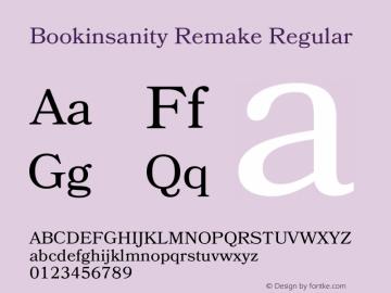 Bookinsanity Remake Version 1.002;Fontself Maker 2.0.4图片样张