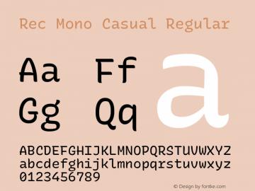 Rec Mono Casual Version 1.074图片样张