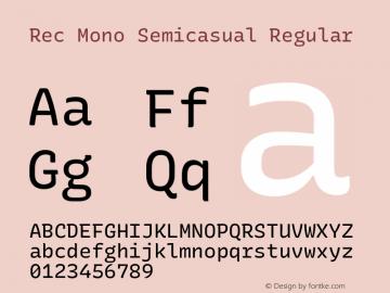 Rec Mono Semicasual Version 1.074图片样张