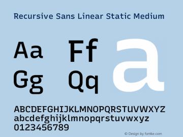 Recursive Sn Lnr St Med Version 1.075;hotconv 1.0.112;makeotfexe 2.5.65598; ttfautohint (v1.8.3)图片样张