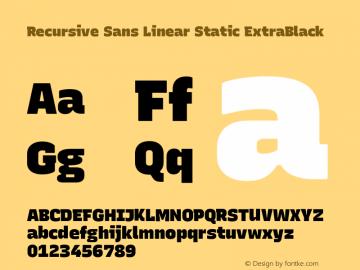 Recursive Sn Lnr St XBk Version 1.075;hotconv 1.0.112;makeotfexe 2.5.65598; ttfautohint (v1.8.3)图片样张