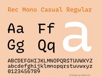 Rec Mono Casual Version 1.075图片样张