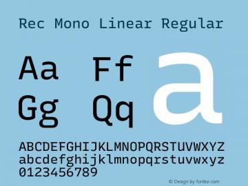 Rec Mono Linear Version 1.075图片样张