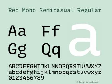 Rec Mono Semicasual Version 1.075图片样张