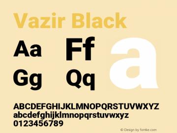 Vazir Black Version 28.0.0图片样张