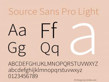 Source Sans Pro Light Version 1.050;PS 1.000;hotconv 1.0.70;makeotf.lib2.5.5900图片样张