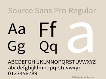 Source Sans Pro Version 1.050;PS 1.000;hotconv 1.0.70;makeotf.lib2.5.5900图片样张