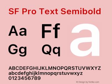SF Pro Text Semibold Version 16.0d18e1图片样张
