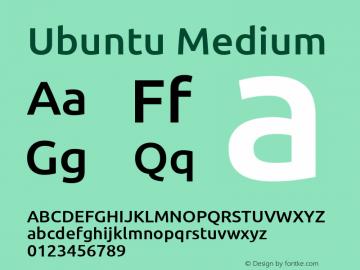 Ubuntu Light Bold 0.83 Font Sample