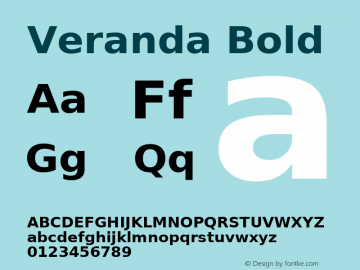 Veranda Bold Version Release 2.02图片样张