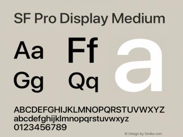 SFProDisplay-Medium Version 14.0d2e0图片样张