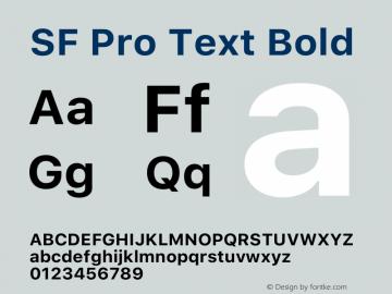 SFProText-Bold Version 14.0d1e3图片样张