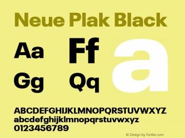 Neue Plak Black 1.00, build 9, s3图片样张