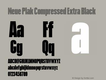 Neue Plak Compressed Extra Black 1.00, build 9, s3图片样张