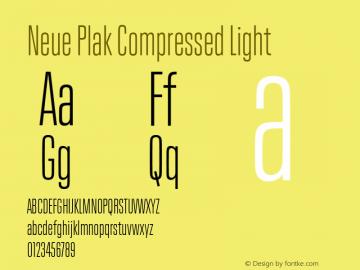 Neue Plak Compressed Light 1.00, build 9, s3图片样张