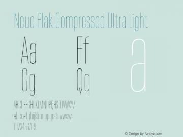 Neue Plak Compressed Ultra Light 1.00, build 9, s3图片样张