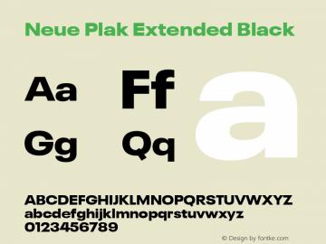 Neue Plak Extended Black 1.00, build 9, s3图片样张