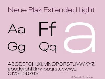 Neue Plak Extended Light 1.00, build 9, s3图片样张