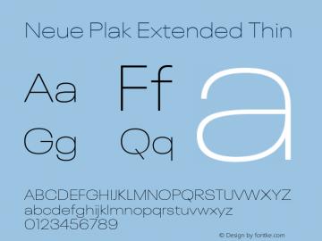 Neue Plak Extended Thin 1.00, build 9, s3图片样张