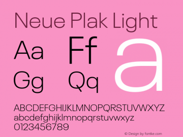 Neue Plak Light 1.00, build 9, s3图片样张