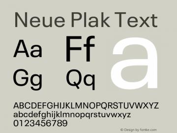 Neue Plak Text 1.10, build 13, s3图片样张