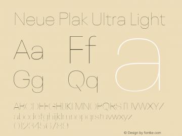 Neue Plak Ultra Light 1.00, build 9, s3图片样张