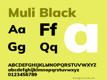 Muli Black Version 2.000图片样张