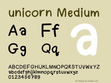 unicorn Version 001.000图片样张