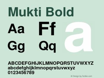 Mukti Bold Version 0.94 November 1, 2003图片样张