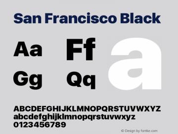 SanFrancisco-Black 11.0d33e2--BETA图片样张