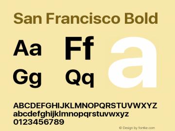SanFrancisco-Bold 11.0d33e2--BETA图片样张