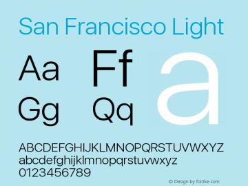 SanFrancisco-Light 11.0d33e2--BETA图片样张
