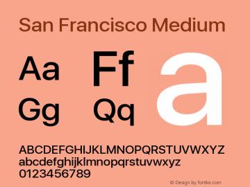 SanFrancisco-Medium 11.0d33e2--BETA图片样张