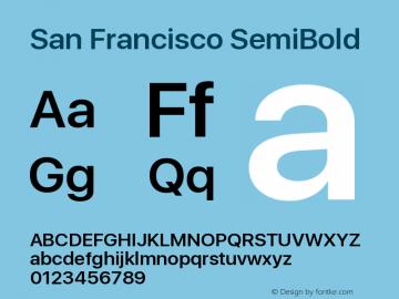 SanFrancisco-SemiBold 11.0d33e2--BETA图片样张