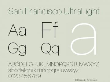 SanFrancisco-UltraLight 11.0d33e2--BETA图片样张