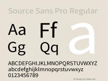 Source Sans Pro Version 1.036;PS 1.000;hotconv 1.0.70;makeotf.lib2.5.5900图片样张