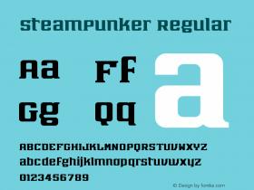 SteamPunker Regular Version 1.0图片样张