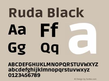 Ruda Black Version 2.001图片样张