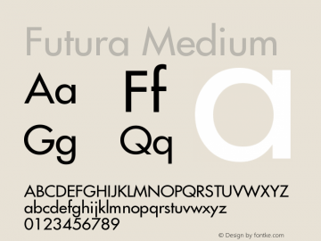 Futura Font,Futura Medium Font|Futura Medium Version 001 002
