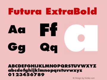 Futura Font,Futura Extra Bold Font,Futura-ExtraBold Font|Futura