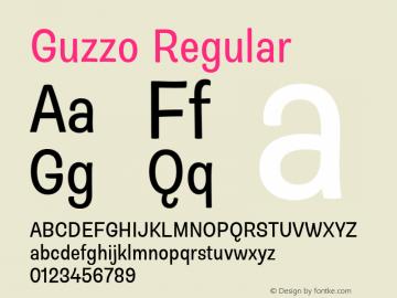 Guzzo Condensed Version 1.00图片样张