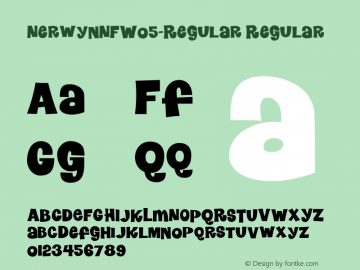 Nerwyn NF W05 Regular Version 1.10图片样张