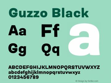 Guzzo Black Version 1.00图片样张