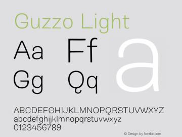 Guzzo Light Version 1.00图片样张