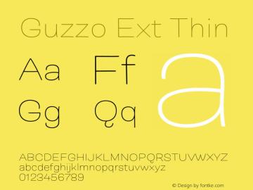 Guzzo Ext Thin Version 1.00图片样张